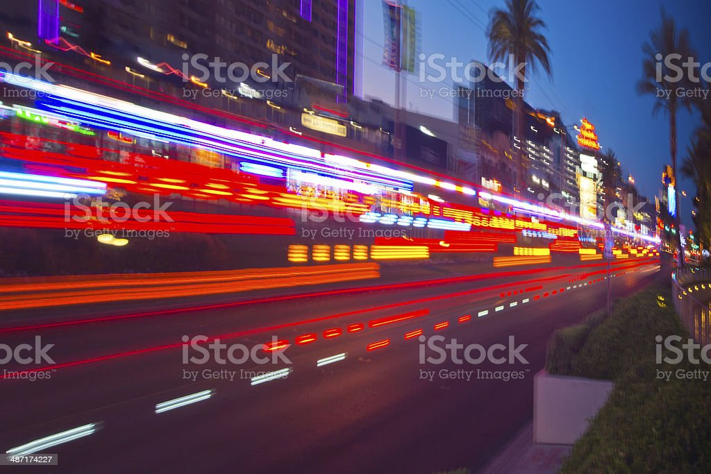 Ambulance and Fire services heading to emergency stock photo