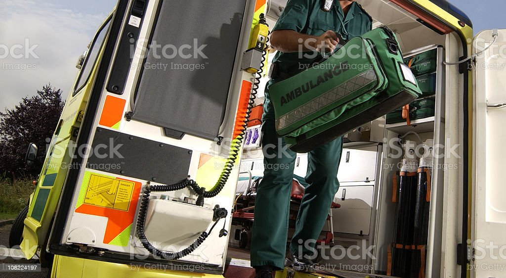ambulance emergency stock photo