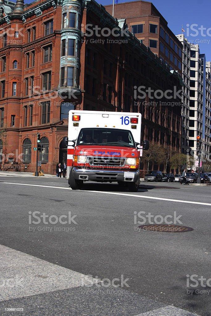 Ambulance royalty-free stock photo