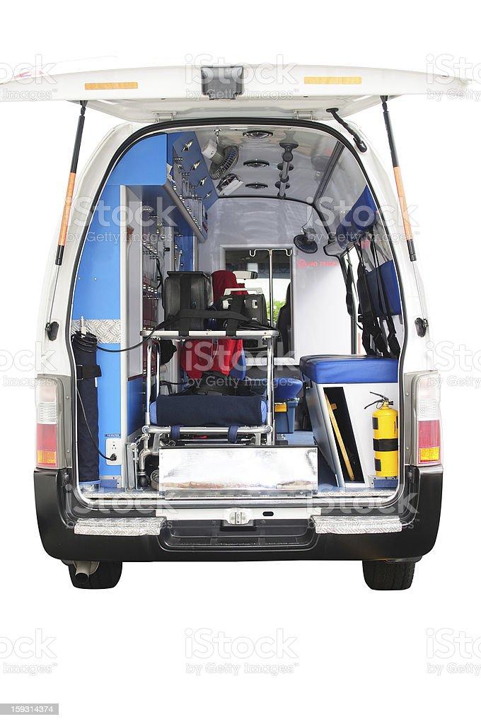 Ambulance. royalty-free stock photo