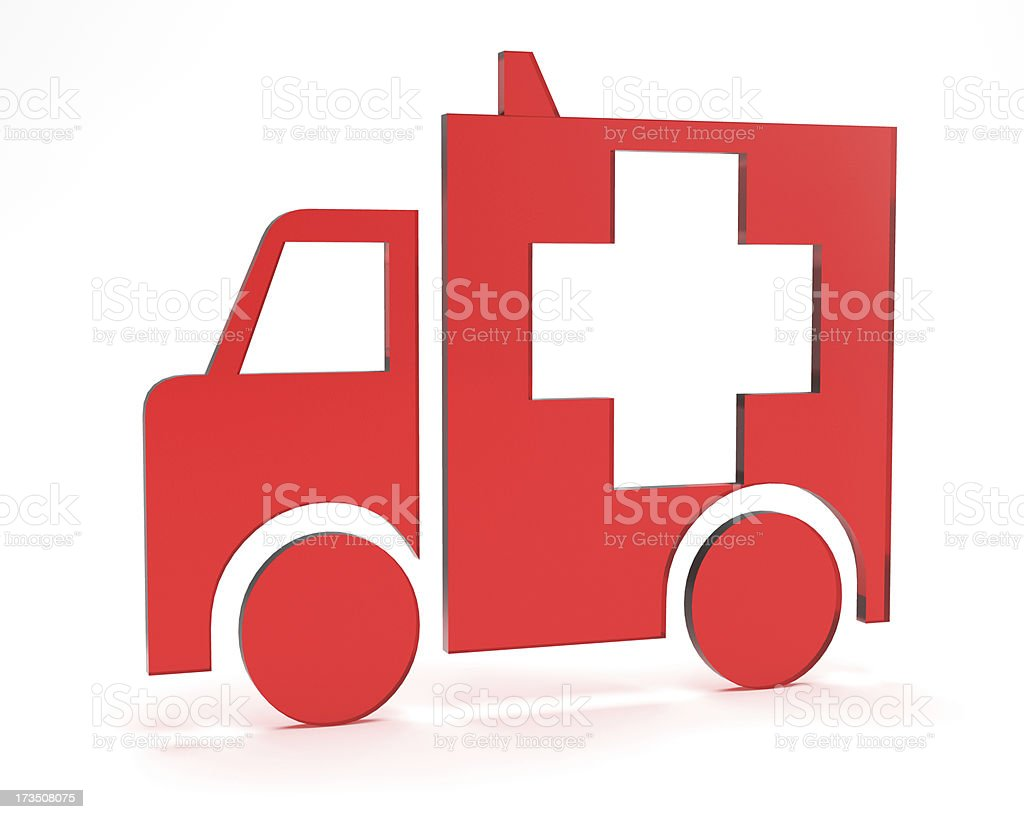 Ambulance royalty-free stock photo