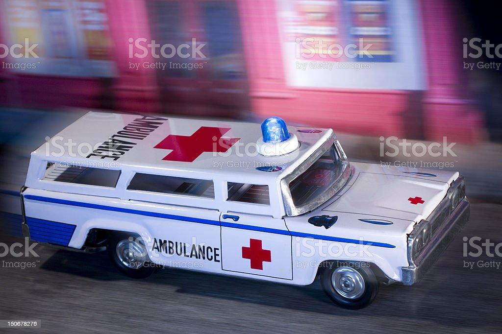Ambulance urbain photo libre de droits