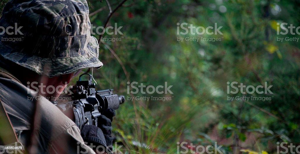 Ambush stock photo