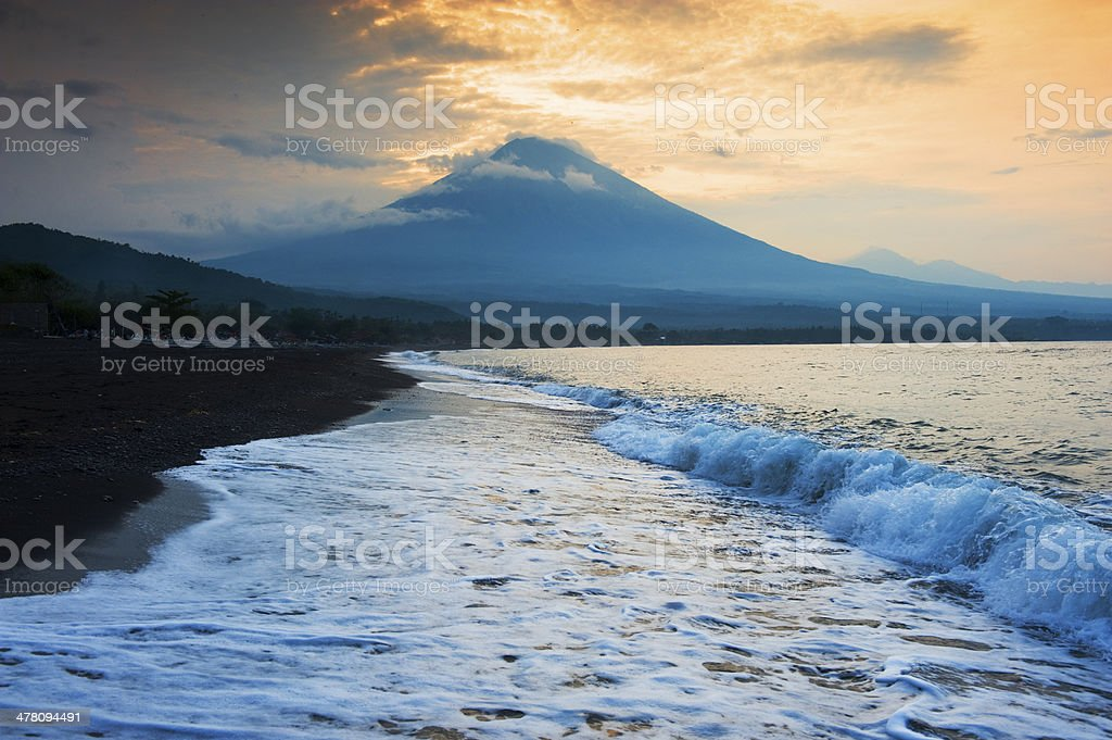 Amed, Bali, Indonesia. royalty-free stock photo