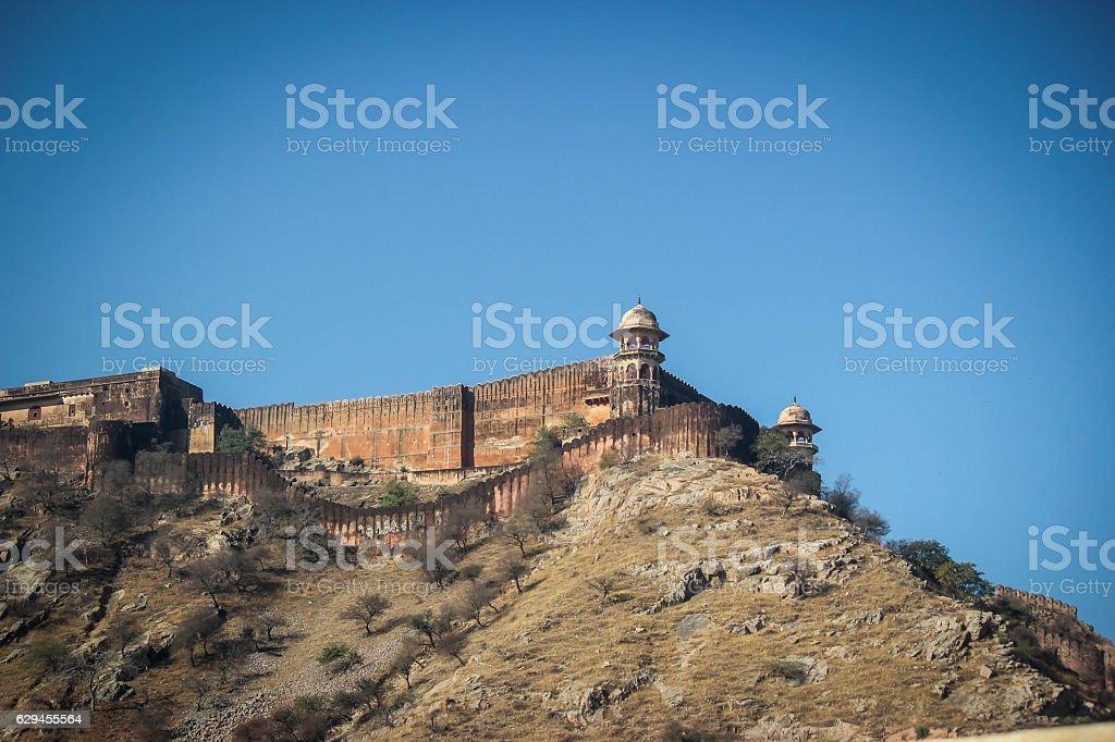 Amer Fort stock photo