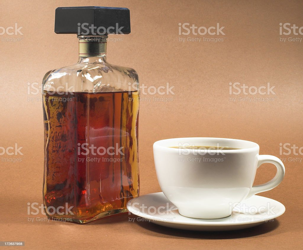 amereto and cofee royalty-free stock photo