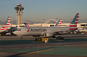 America Airlines Jet at LAX