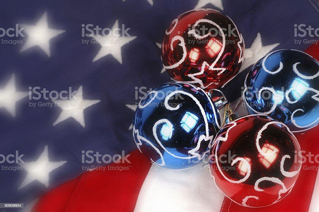 America Celebrates Christmas royalty-free stock photo