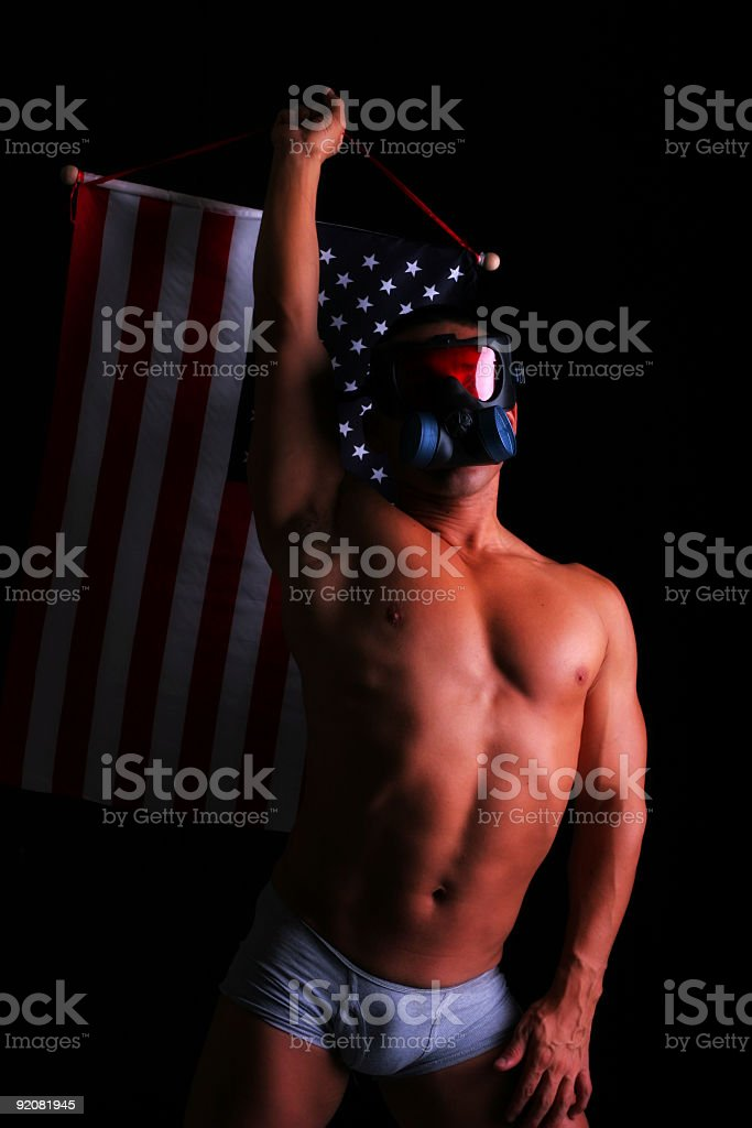 America in My Underwear royalty-free stock photo