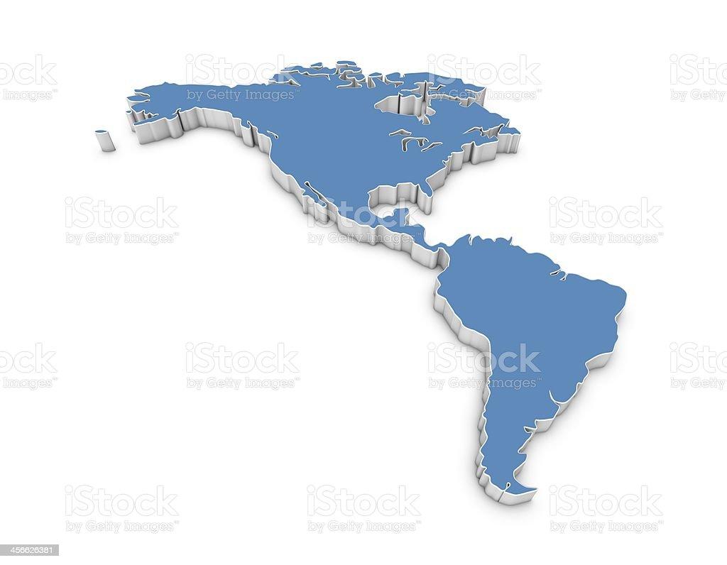 america map royalty-free stock photo