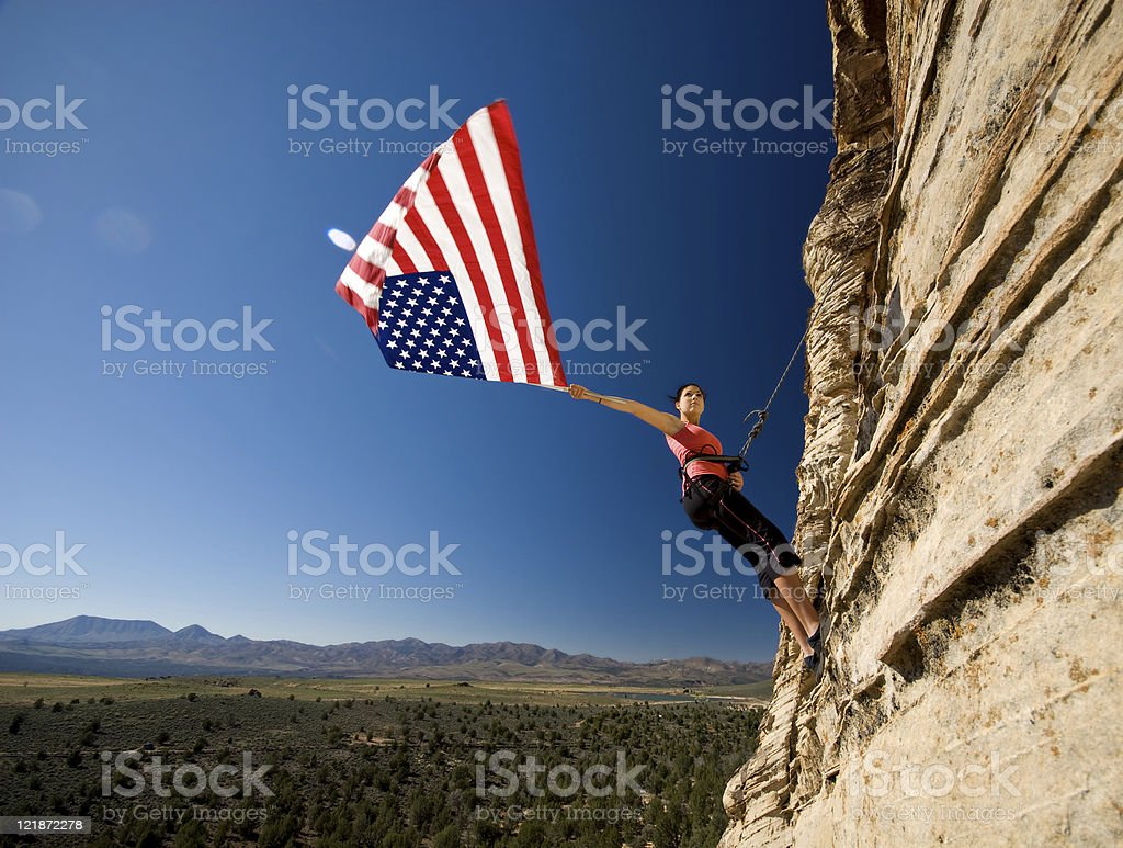 America the Beautiful royalty-free stock photo