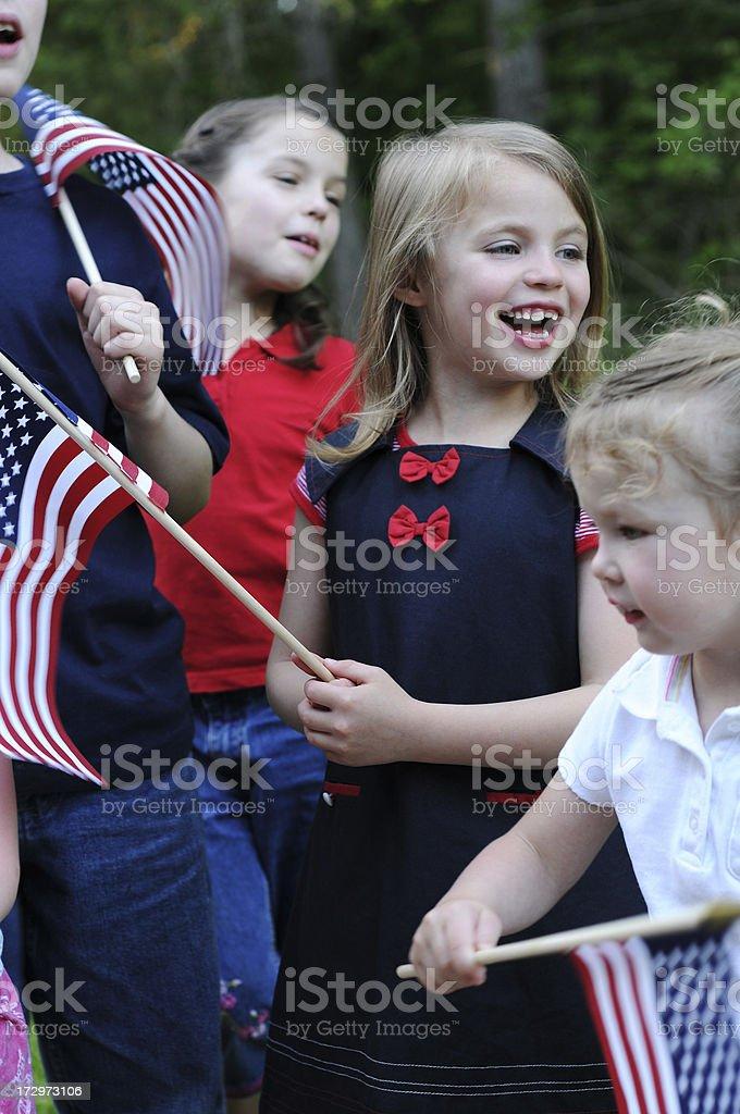 America the Beautiful royalty-free stock photo