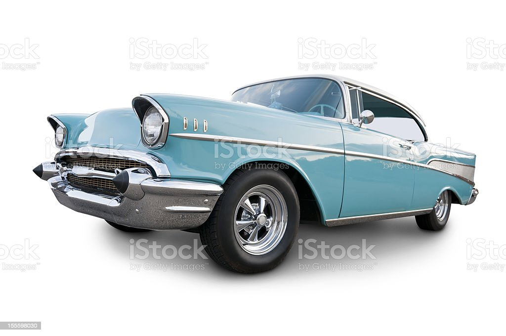 American 1957 Chevrolet stock photo