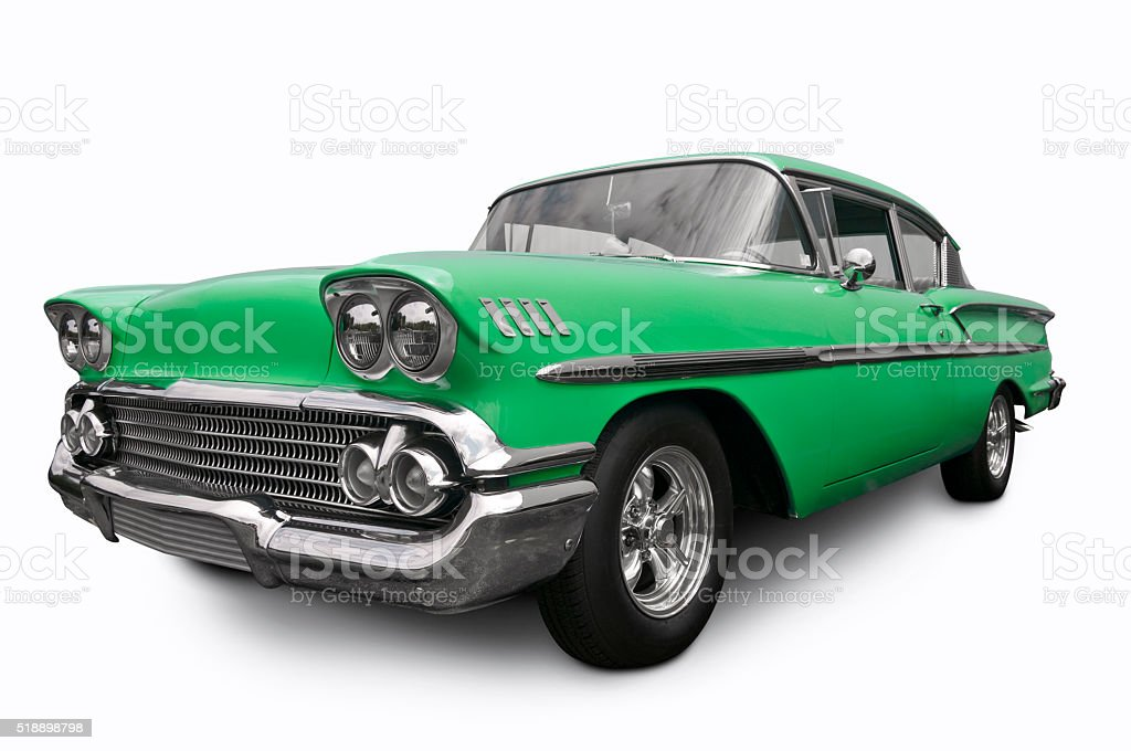 American 1958 Chevrolet stock photo