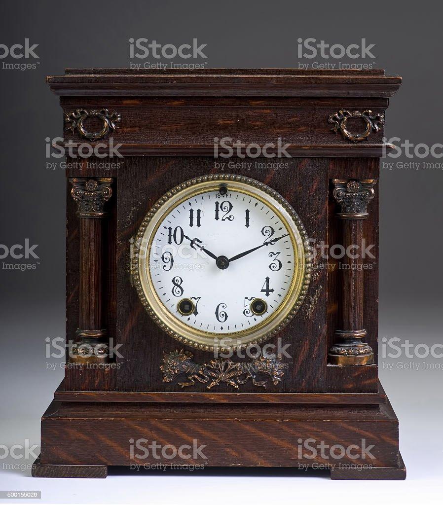 American Aniique Clock. stock photo