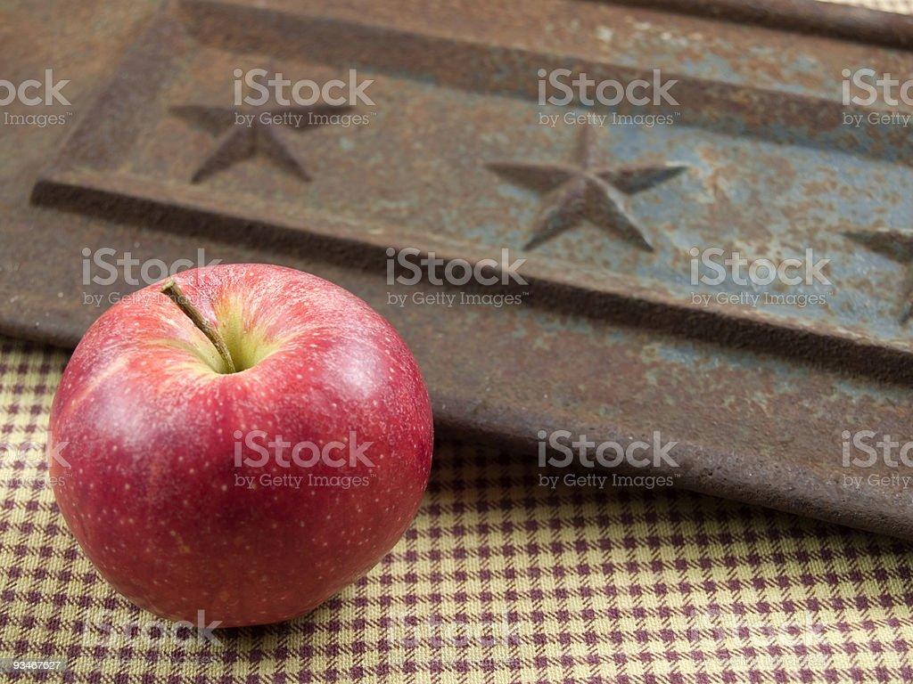 American apple stock photo