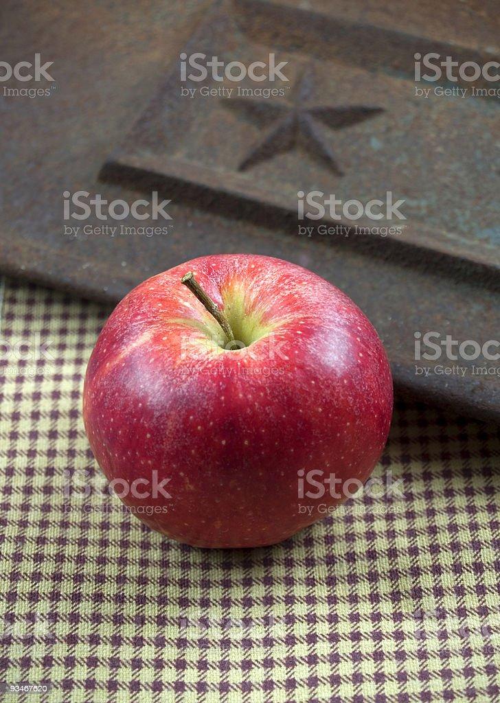 American apple pie concept stock photo