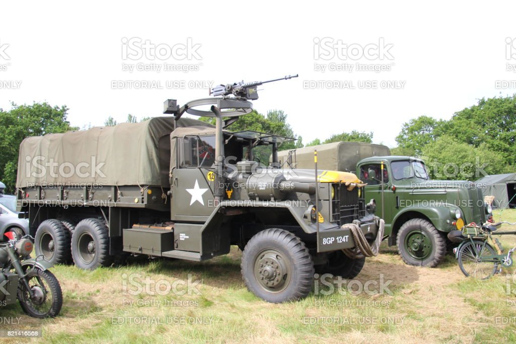 American Army Truck stock photo