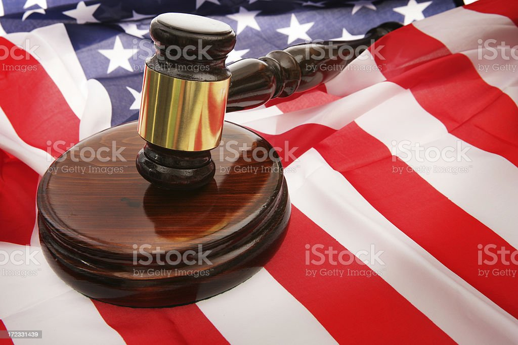 American Auction royalty-free stock photo