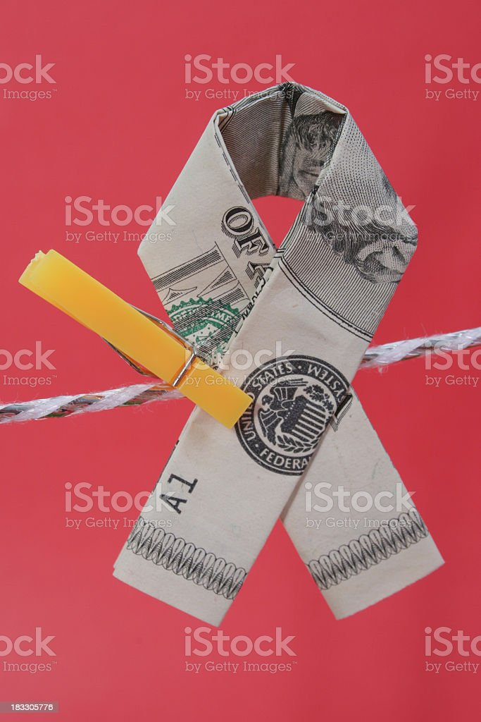 American Awareness Ribbon royalty-free stock photo