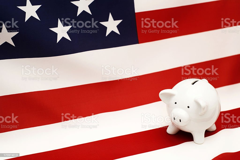 American bank royalty-free stock photo