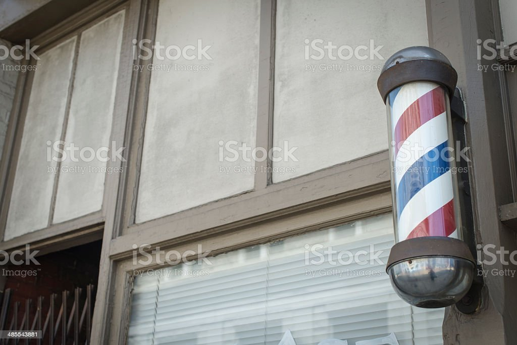 American Barber Pole royalty-free stock photo