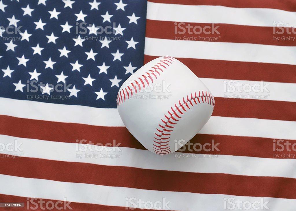 American Baseball royalty-free stock photo