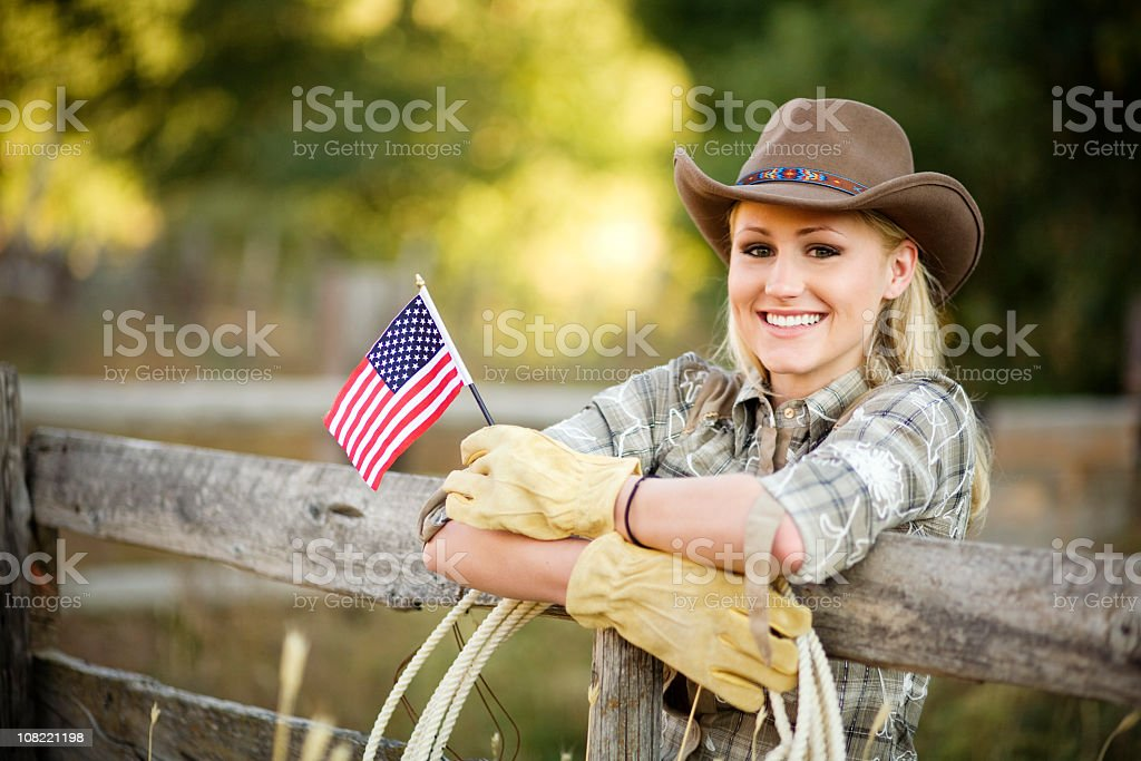 American Belle royalty-free stock photo