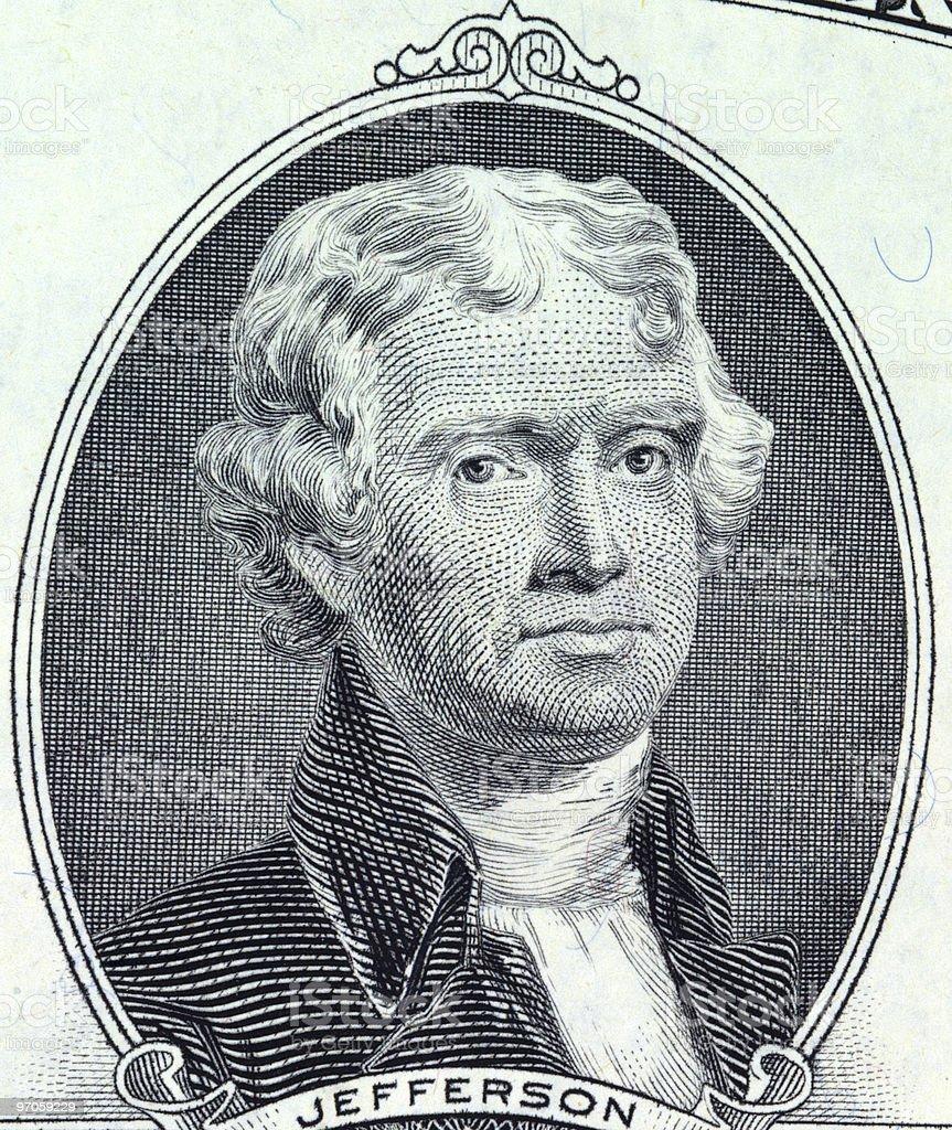American Bill - Macro Photo stock photo