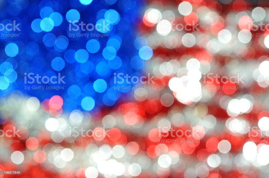 american blurs royalty-free stock photo