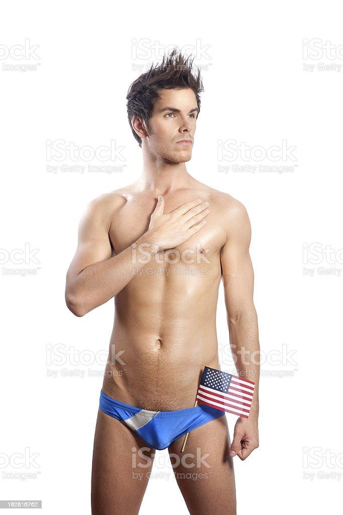 American Boy royalty-free stock photo