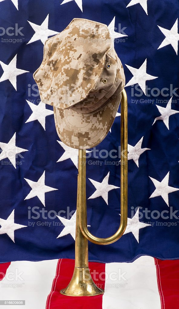 American Bugle stock photo