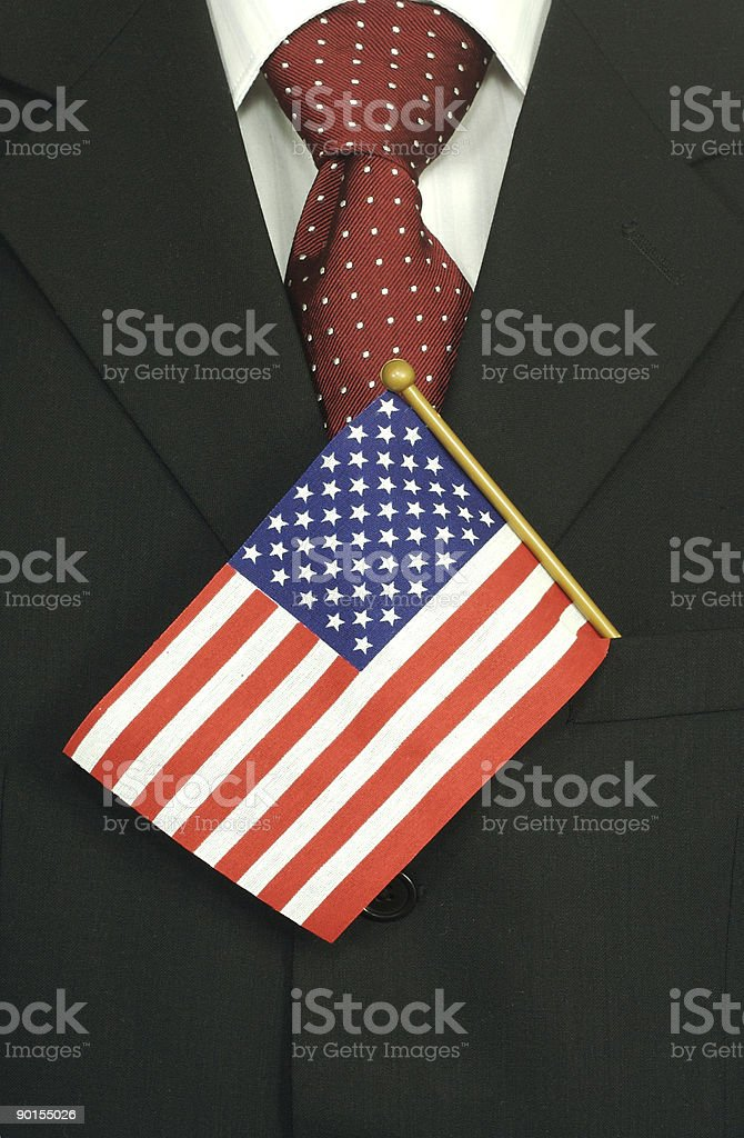 American Businessman royalty-free stock photo