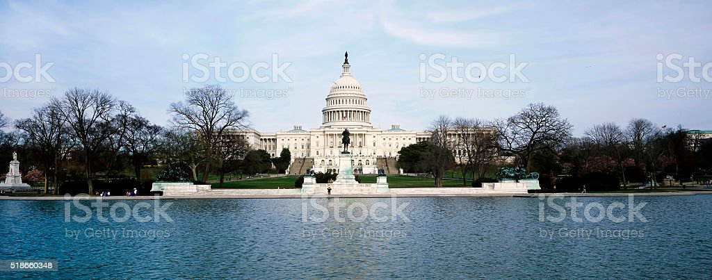 American Capital Building. stock photo
