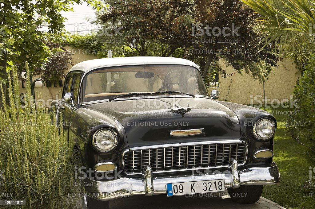 American car of year fifty stock photo