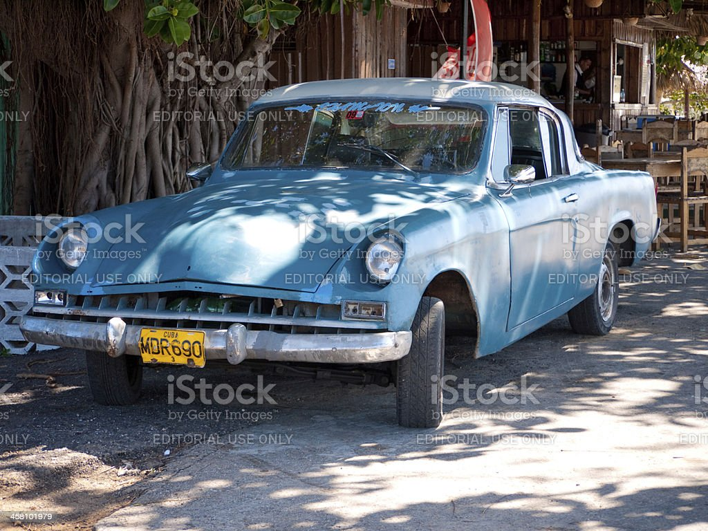 American cars stock photo