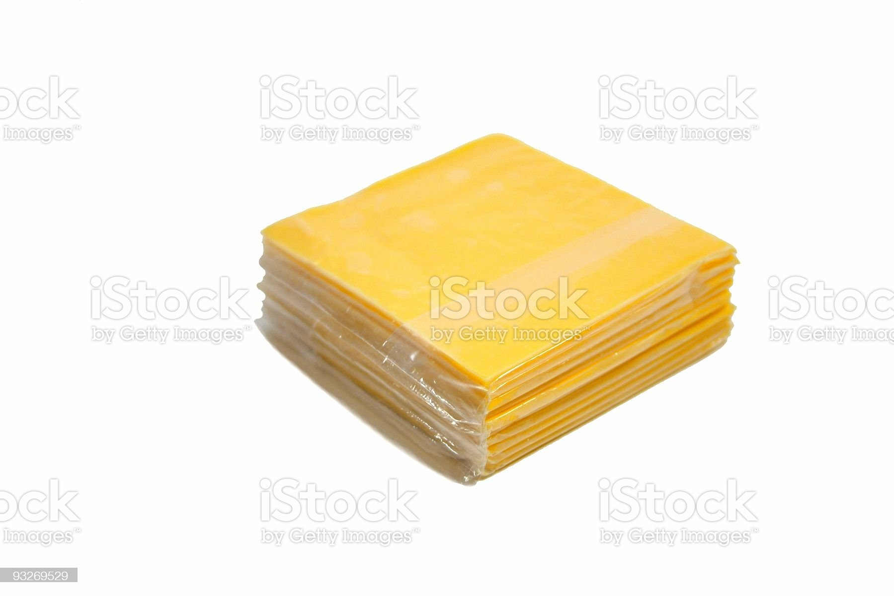 American Cheese royalty-free stock photo
