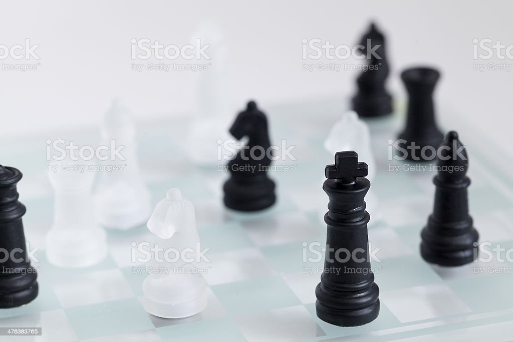 American chess royalty-free stock photo