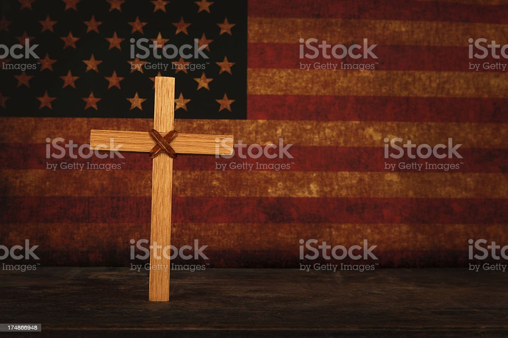 American Christianity royalty-free stock photo