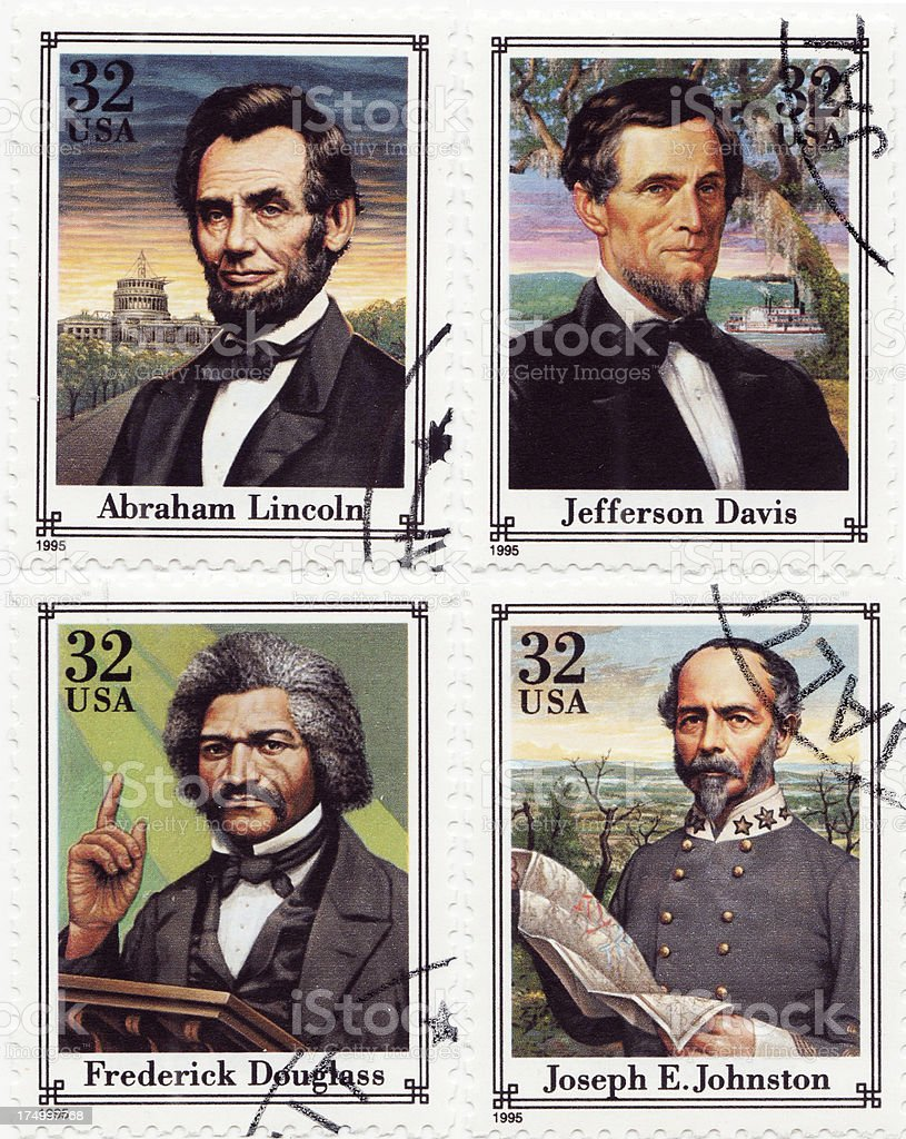 American Civil War stock photo