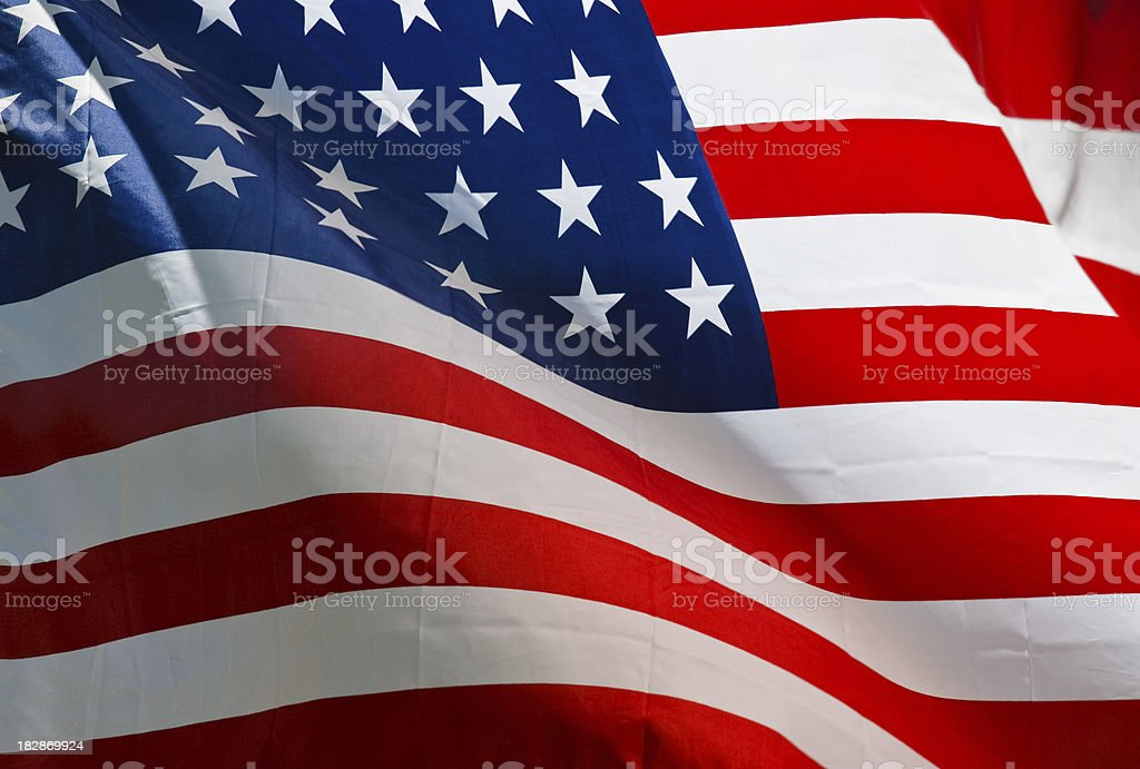 American Civil War Union Flag stock photo