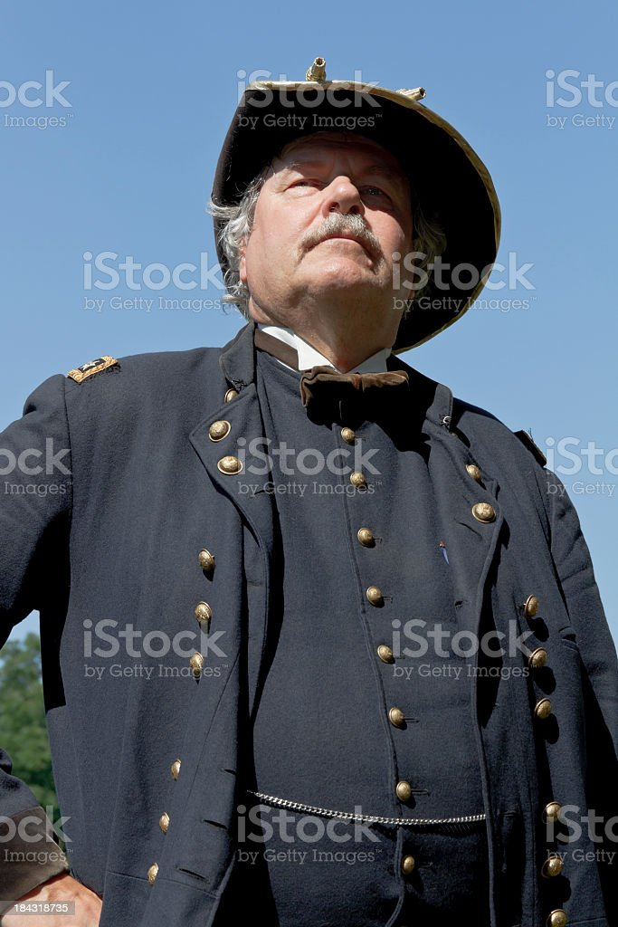 American Civil War Union General stock photo