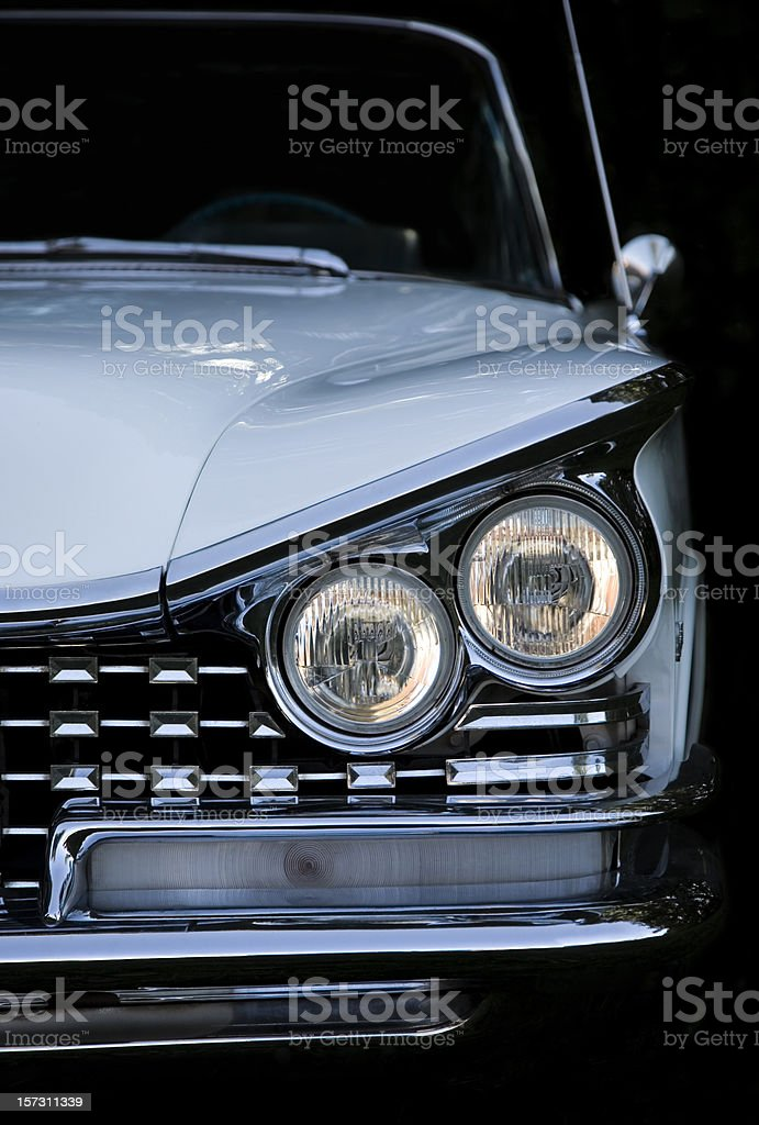 American Classic Convertible Car royalty-free stock photo