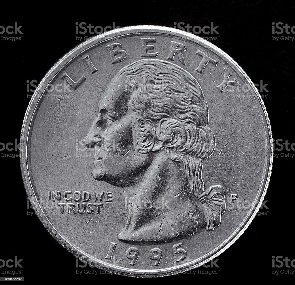 american coin stock photo