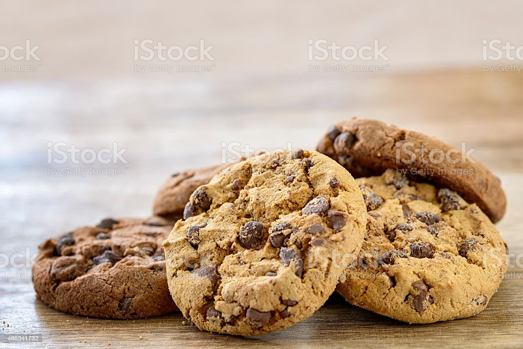 american cookies stock photo