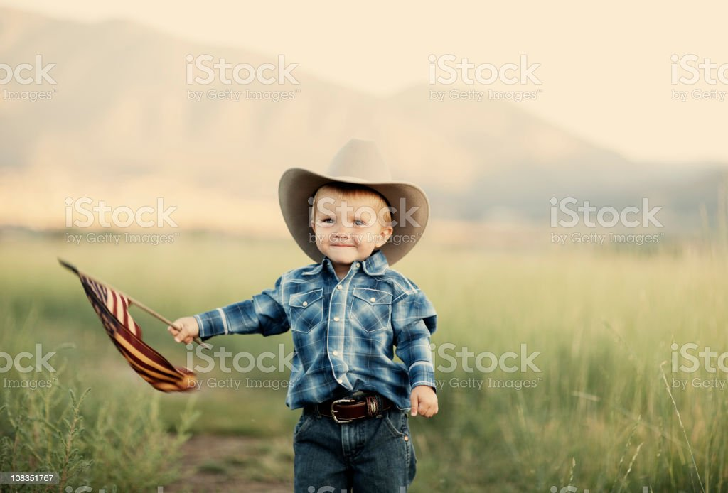 American Cowboy royalty-free stock photo