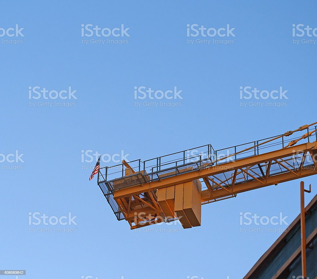 American Crane stock photo
