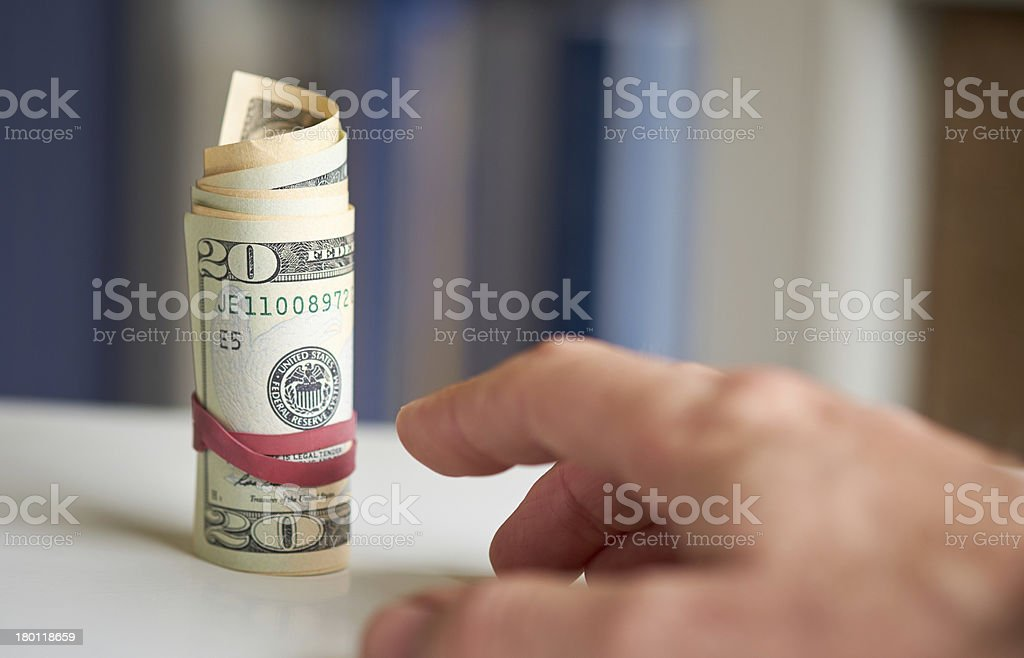 American Currency stock photo