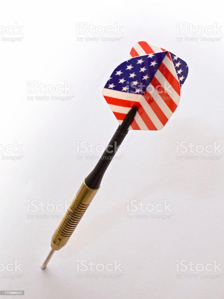 American dart stock photo