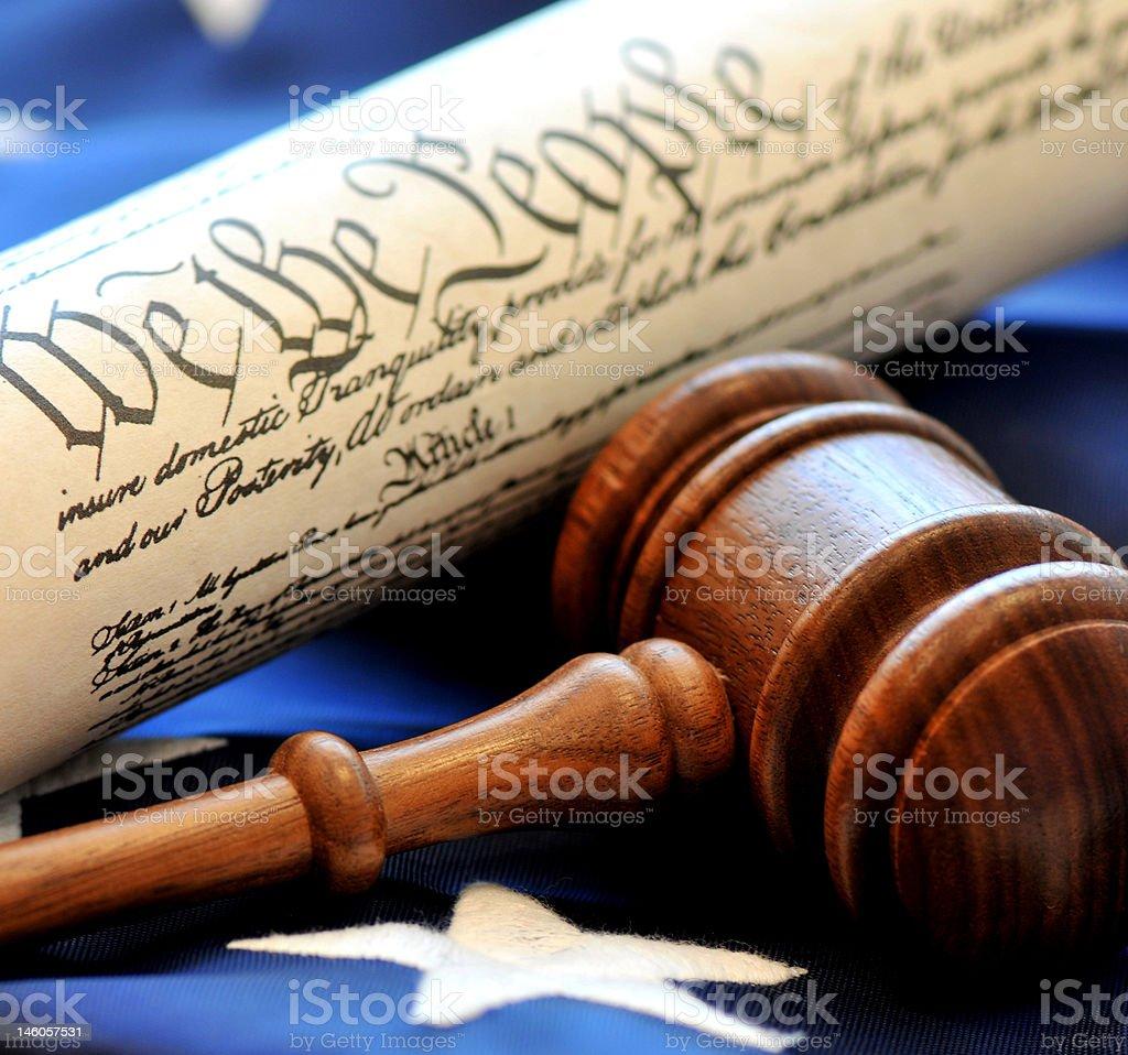 American Democracy stock photo